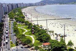 Turismo: Orla de Santos