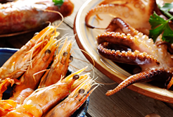 Veja quais são os benefícios dos frutos do mar para sua saúde.