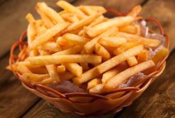 Batata frita combina com tudo