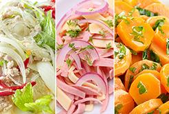 As saladas ao redor do mundo