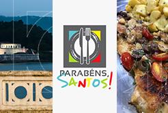 Um prato especial para o aniversário de Santos!