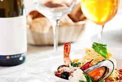 Vinho e frutos do mar: ótima combinação para o seu paladar